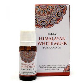 aceite esencial aromatico goloka almizcle white musk inciensos.online