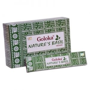 incienso goloka nature´s basil inciensos.online