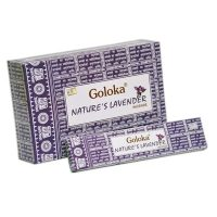 incienso goloka nature´s lavender lavanda inciensos.online