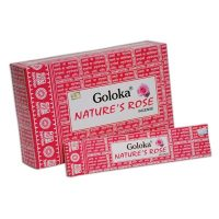 incienso rosas goloka nature´s rose inciensos.online