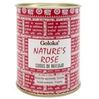 cono reflujo goloka nature´s rose rosa inciensos.online