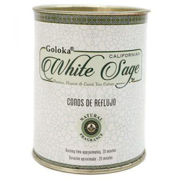 cono reflujo goloka salvia blanca white sage inciensos.online