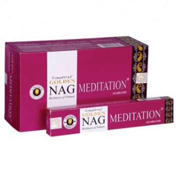 incienso golden nag meditation meditacion inciensos.online