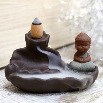 quemador incienso cono reflujo buddha inciensos.online