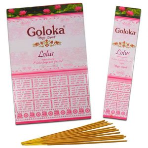 incienso masala goloka lotus flor de loto