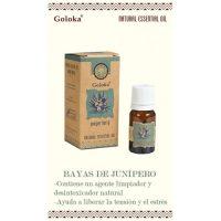 aceite esencial natural juniper berry bayas de enebro goloka