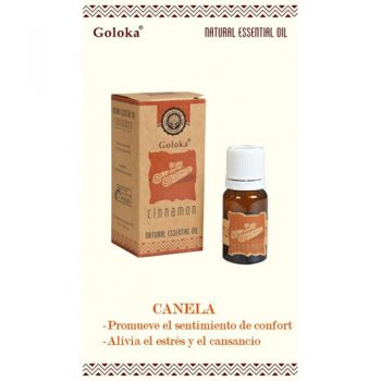 aceite esencial natural canela goloka