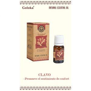 aceite esencial natural clavo goloka