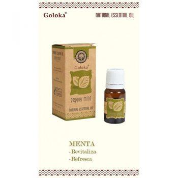 aceite esencial natural menta goloka