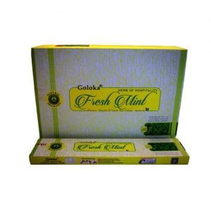 incienso goloka fresh mint