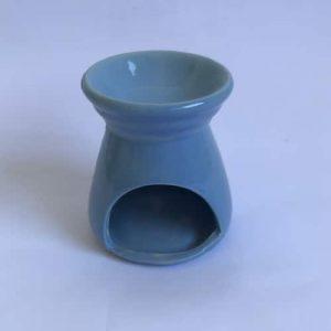 quemador de aceite azul
