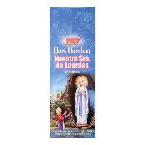 incienso nuestra señora de lourdes Hari darshan