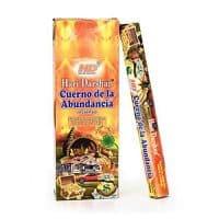 incienso cuerno de la abundancia hari darshan